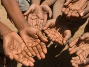 Hands of the poor
