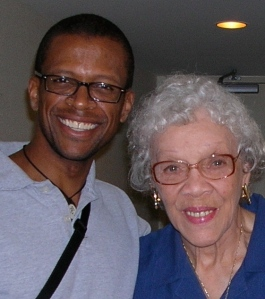 Me and Aunt Vivienne Lewis in 2006